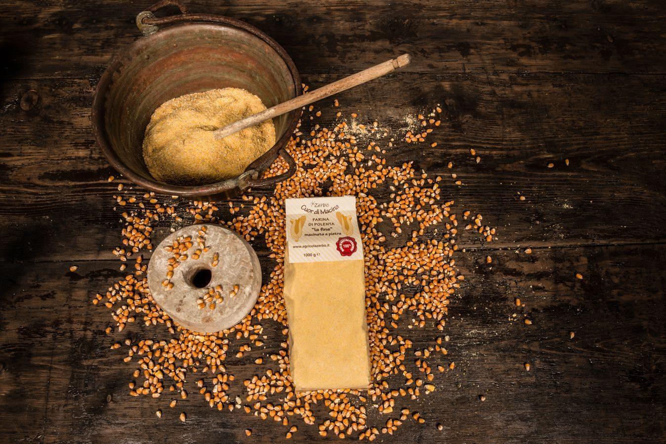 Farina di polenta la fine