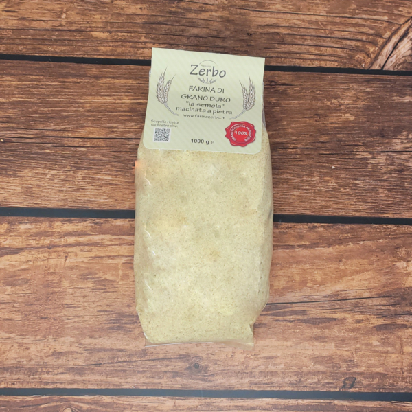 Semola di grano duro Zerbo