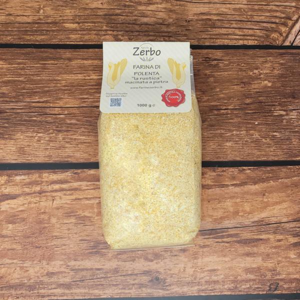 Polenta rustica Zerbo