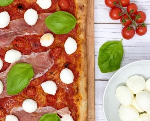 PIZZA A LUNGA LIEVITAZIONE CON POOLISH